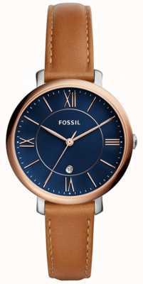 Fossil レディースジャケットレザーストラップ ES4274