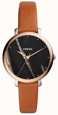 Fossil レディースジャケットレザーストラップ ES4378