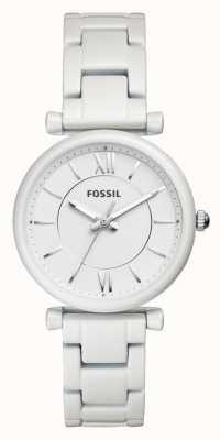 Fossil レディースカルリーステンレスストラップ ES4401