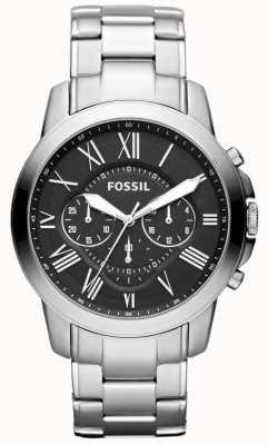 Fossil メンズステンレスストラップ FS4736IE