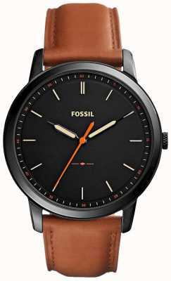 Fossil メンズミニマル3hレザーストラップ FS5305