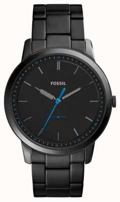 Fossil メンズミニマリスト3hステンレススチールストラップ FS5308
