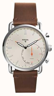 Fossil メンズq通勤革ストラップ FTW1150