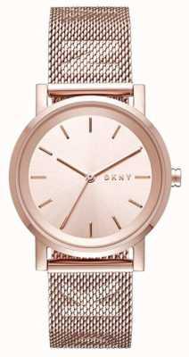 DKNY レディースソーホーステンレススティールストラップ NY2622