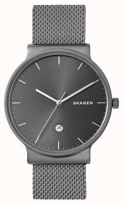 Skagen メンズアンカーステンレスメッシュストラップ SKW6432