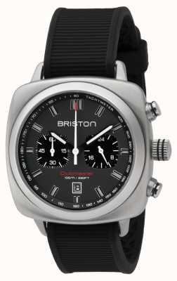 Briston クラブマスタースポーツブラックラバーグレーマットダイヤル 16142.S.SP.17.RB