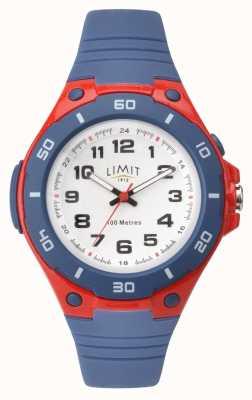 Limit キッズは赤と青の番号付きダイヤルを見る 5699.71