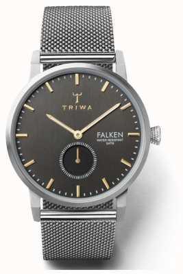 Triwa メンズスモーキーファルケンスチールメッシュ TR.FAST119-ME021212