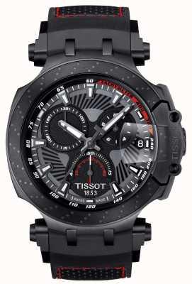 Tissot Tレースモトゴプスペシャルエディションブラックラバーストラップ T1154173706104
