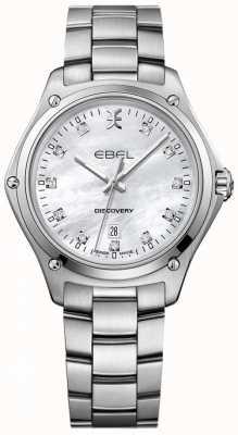 EBEL パールステンレス鋼の女性のダイヤモンド発見の母 1216394