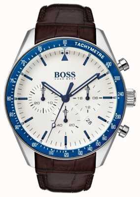 Boss メンズトロフィーホワイトダイヤル 1513629