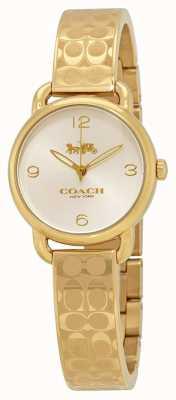 Coach レディースゴールドデランジーウォッチ 14502892