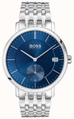 Boss メンズコスチュームステンレススチールブルーダイヤル 1513642