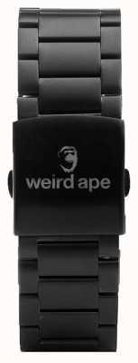 Weird Ape ブラックリンク20mmブレスレット ST01-000002