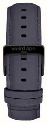 Weird Ape ブルーバイオレットスエード20mmストラップブラックバックル ST01-000079