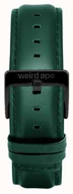 Weird Ape ダークチールレザー20mmストラップブラックバックル ST01-000075