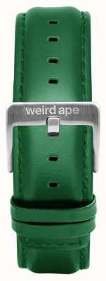 Weird Ape エメラルドレザー20mmストラップシルバーバックル ST01-000110