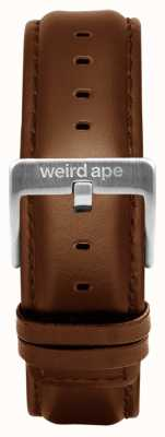 Weird Ape オークレザー20mmストラップシルバーバックル ST01-000099