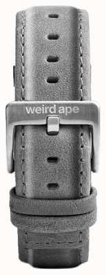 Weird Ape スレートグレースエード20mmストラップシルバーバックル ST01-000016