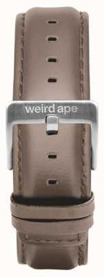Weird Ape ヘーゼルナッツレザー20mmストラップシルバーバックル ST01-000101
