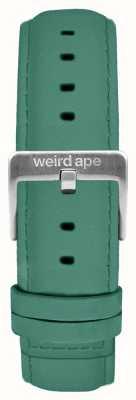 Weird Ape 翡翠緑のスエード16ミリメートルストラップシルバーバックル ST01-000060