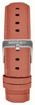 Weird Ape ローズピンクスエード16mmストラップシルバーバックル ST01-000052