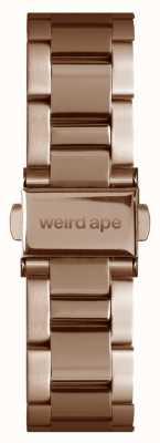 Weird Ape ローズゴールドリンク16mmブレスレット ST01-000043