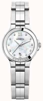 Michel Herbelin レディースニューポートロイヤルステンレス腕時計 14298/B89