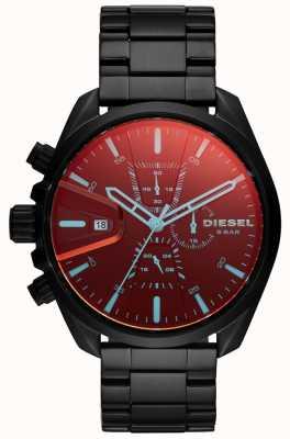 Diesel メンズms9時計虹色のガラスクロノグラフダイヤル DZ4489