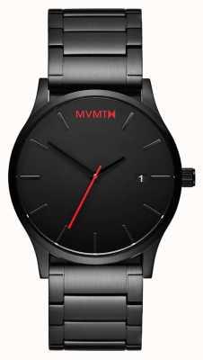MVMT クラシックブラックリンク|黒いDVD |ブラックダイヤル D-L213.5B.551