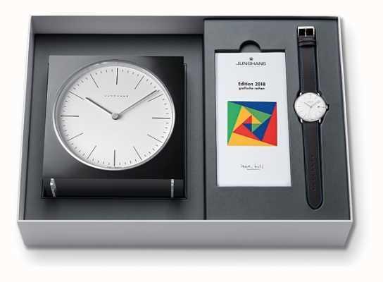 Junghans 最大請求書時計&時計セット限定版2018 363/2816.00