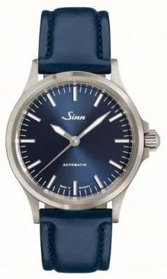 Sinn 556 ibブルー牛革ストラップ 556.0104 BLUE COWHIDE STRAP