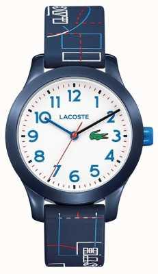 Lacoste 12.12キッズブルーストラップホワイトダイヤル 2030008