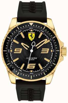Scuderia Ferrari Mens xx kersゴールドメッキケースラバーストラップ 0830485
