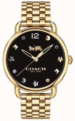 Coach レディースデランジーウォッチゴールドトーンブレスレット 14502813