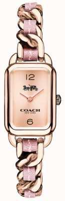 Coach レディースラドローローズゴールド&ピンクのブレスレットウォッチ 14502844