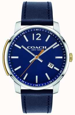 Coach メンズブリーカーマルチファンクションウォッチブルー 14602343