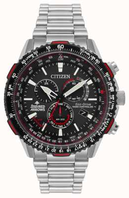Citizen メンズ赤い矢印スペシャルエディションラジコンエコドライブ CB5008-82E