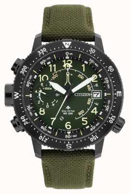 Citizen メンズエコドライブプロマスターaltichron wr200腕時計 BN4045-12X