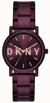DKNY ソーホーレディースパープルpvdメッキブレスレット NY2766