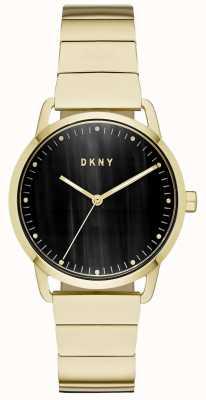 DKNY レディースネイビーブルーレザーストラップウォッチ NY2756
