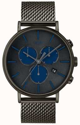 Timex フェアフィールドスーパーノヴァクロノグラフウォッチグレーメッシュストラップ TW2R98000D7PF