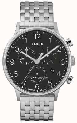Timex ウォーターベリークラシッククロノグラフステンレススチールウォッチ TWF3C250UK
