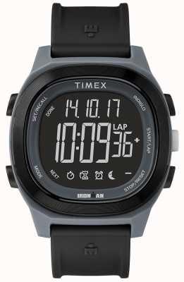 Timex アイアンマン必需品ブラック腕時計ネガティブディスプレイ TW5M19000SU