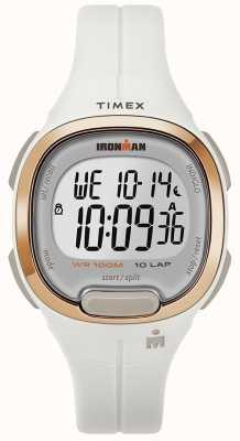 Timex アイアンマン必須ホワイトとローズゴールドウォッチ TW5M19900SU