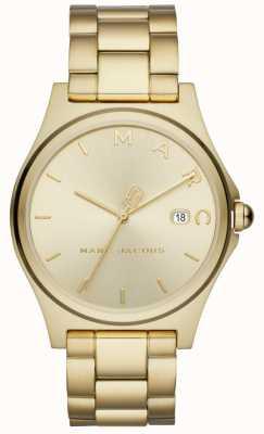 Marc Jacobs レディースヘンリー時計ゴールドトーン MJ3584