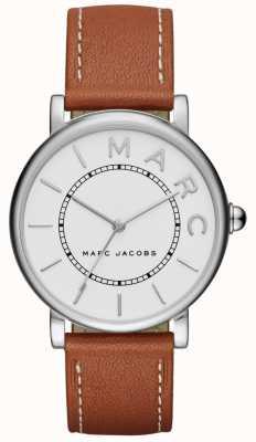Marc Jacobs レディースmarc jacobsクラシックウォッチブラウンレザー MJ1571