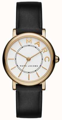 Marc Jacobs レディースmarc jacobsクラシックウォッチブラックレザー MJ1537
