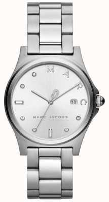 Marc Jacobs レディースヘンリー時計シルバートーン MJ3599