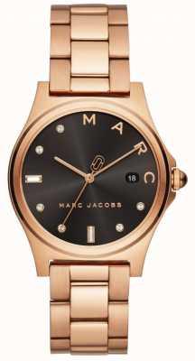 Marc Jacobs レディースヘンリーの腕時計は、ゴールドトーンをバラ MJ3600